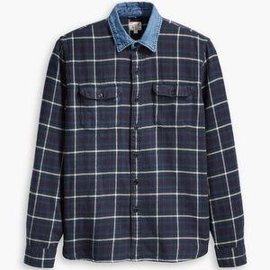 Levi's x Justin Timberlake Flannel Worker Shirt